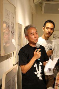 左から染谷さん、渋谷さん